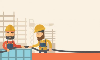 Two builders