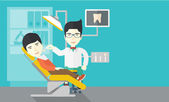 páciens és a fogorvos