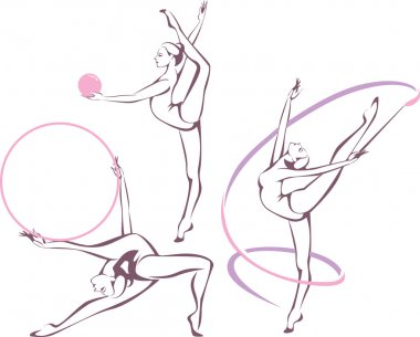 rhythmic gymnastics set