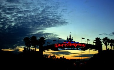 Walt Disney World Sunset