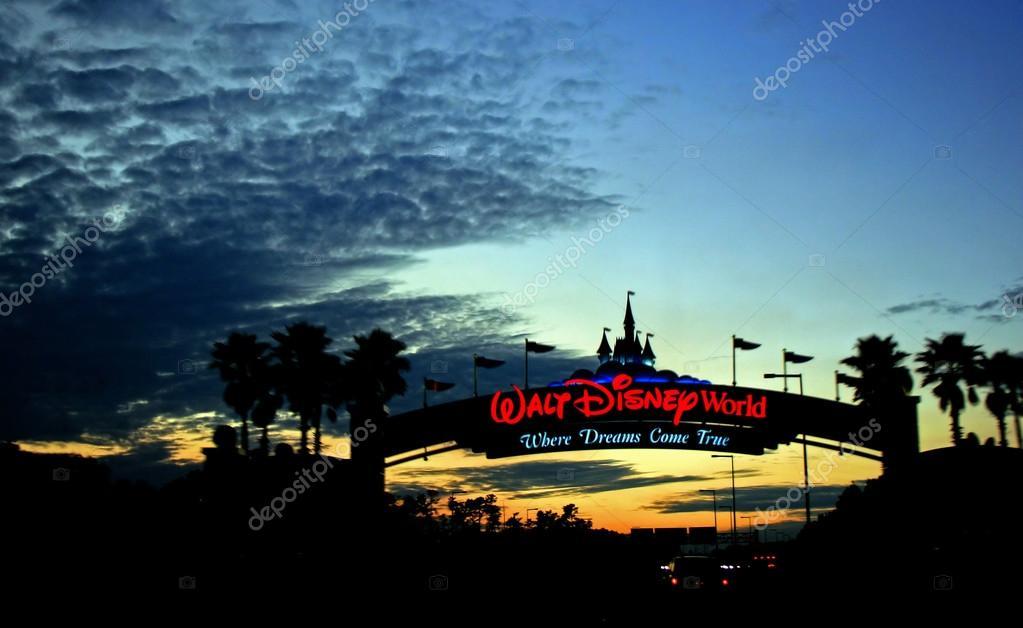 Walt Disney World Sunset