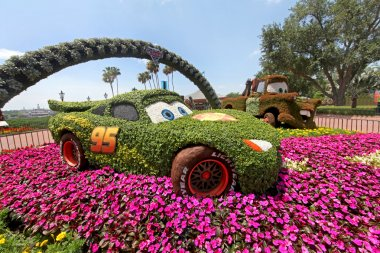 Epcot Flower and Garden Festival Cars
