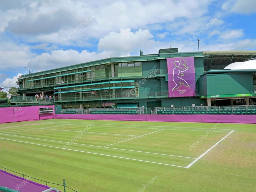 Wimbledon Tennis Court Stock Editorial Photo C Quackersnaps 87159028