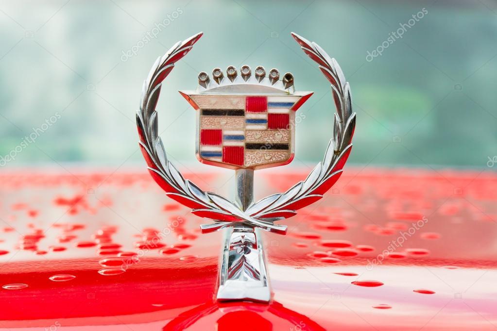 Logo Of Vintage Cadillac Motor Car Stock Photo