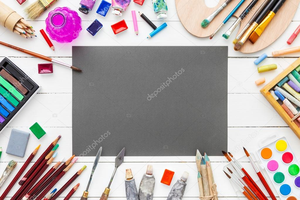 Ipad Retina Wallpaper Art Pain Brush: Aquarelles Et Peintures à L'huile, Pinceaux, Crayons