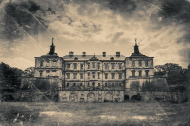 Pidhirtsi Castle, village Podgortsy, Renaissance Palace, Lviv re