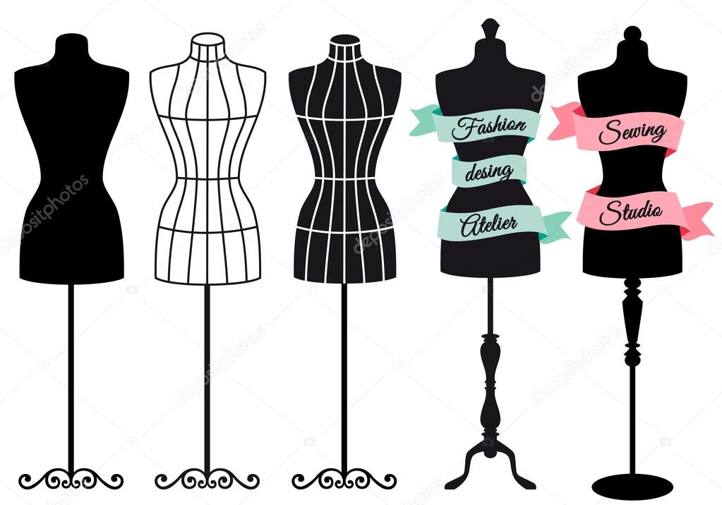 Fashion Dress On Mannequin Images