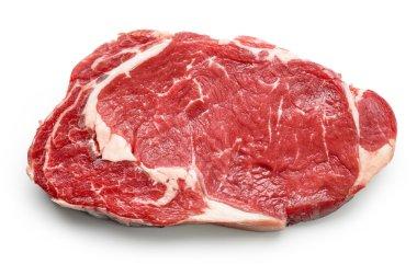 fresh raw beef steak