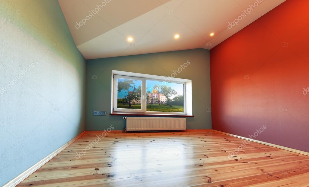 Foto Pareti Colorate : Camera con pareti colorate u foto stock ivantsov