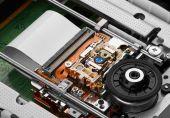Objektív és orsó CD-ROM-meghajtó