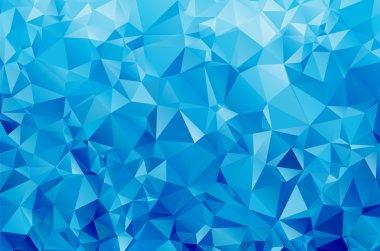 Abstract geometric vector polygon background clip art vector