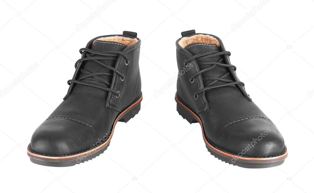 super popular 3b67f 7b840 Herrenschuhe schwarz Leder — Stockfoto © krasyuk #98652052