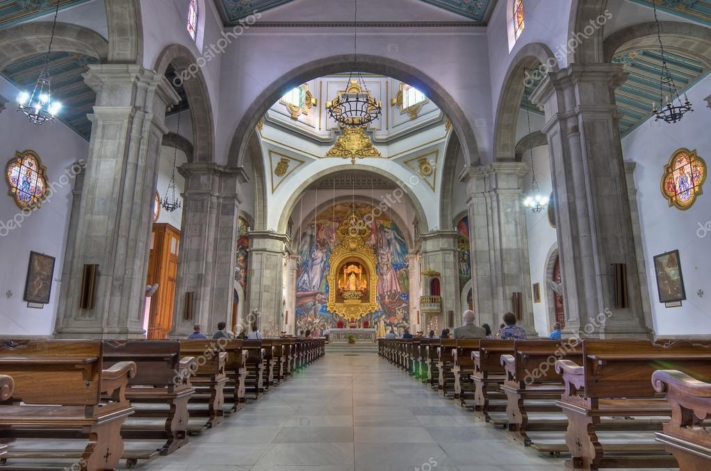 カンデラリア、テネリフェ島の聖堂 — ストック写真 © AnibalTrejo ...