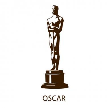 cinema award icon isolated on white background