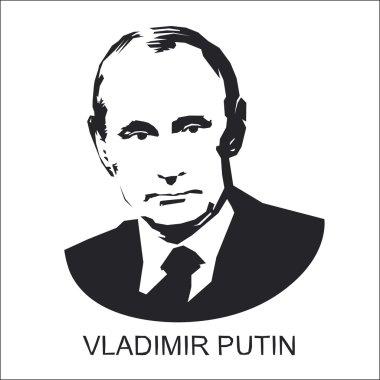 silhouette Vladimir Putin