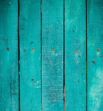 green wooden planks