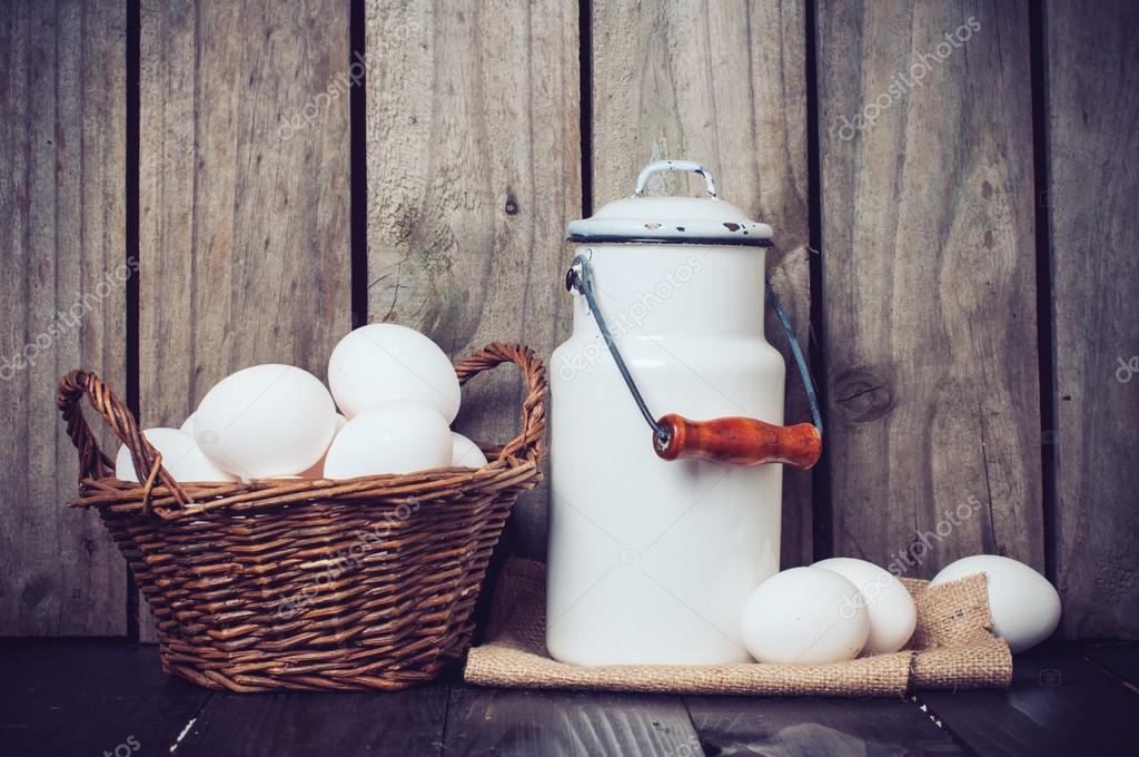 Cocina de país naturaleza muerta — Fotos de Stock © manera #58437159