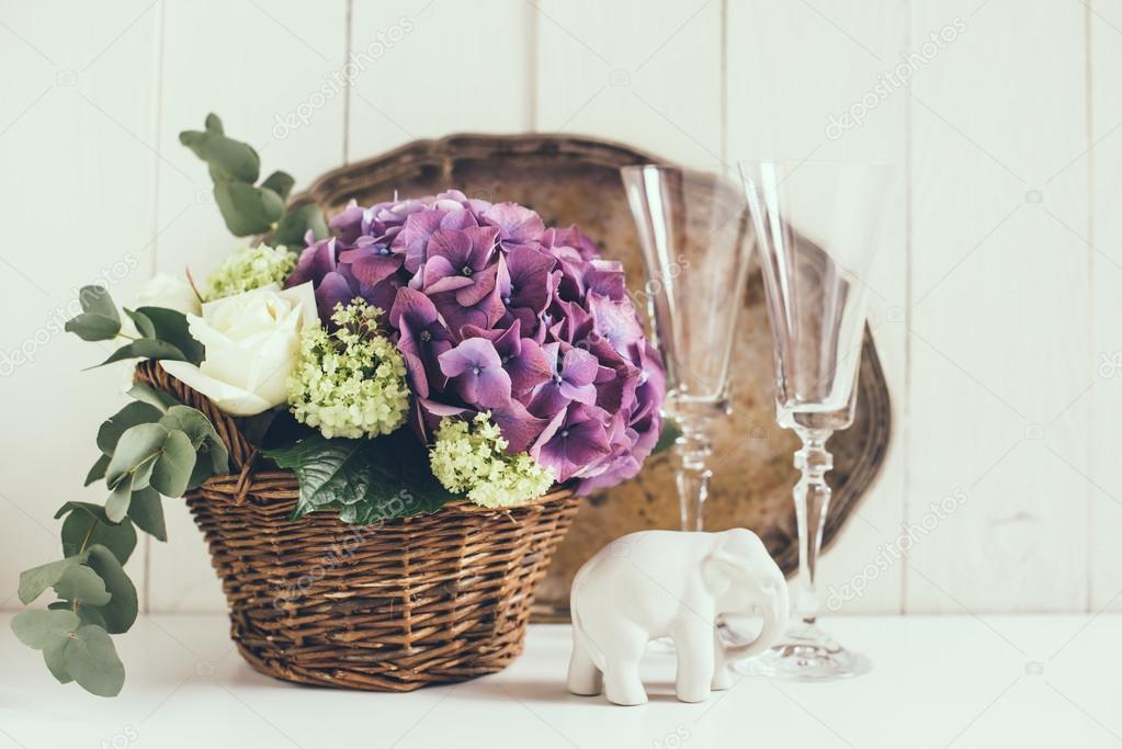 Rustykalny ślub Wystrój Zdjęcie Stockowe Manera 71712421