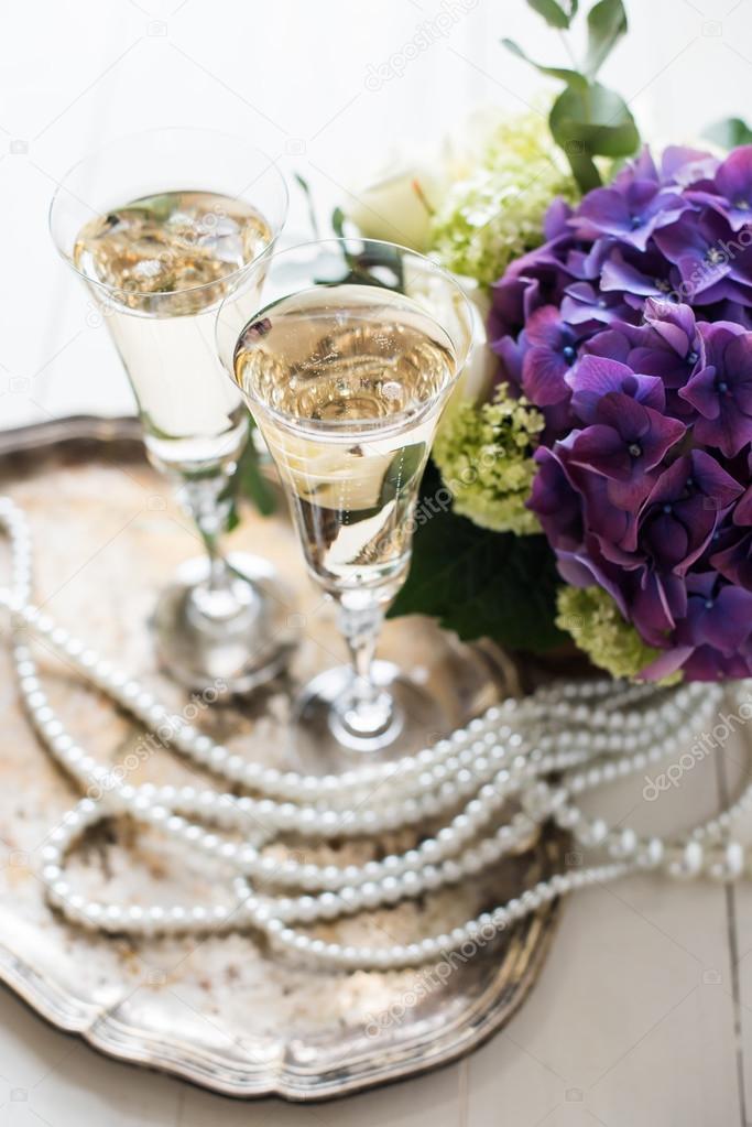 Vintage Wedding Decor Stock Photo Manera 71718299