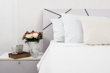 Bedside table decor