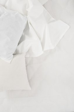 white linen cloth