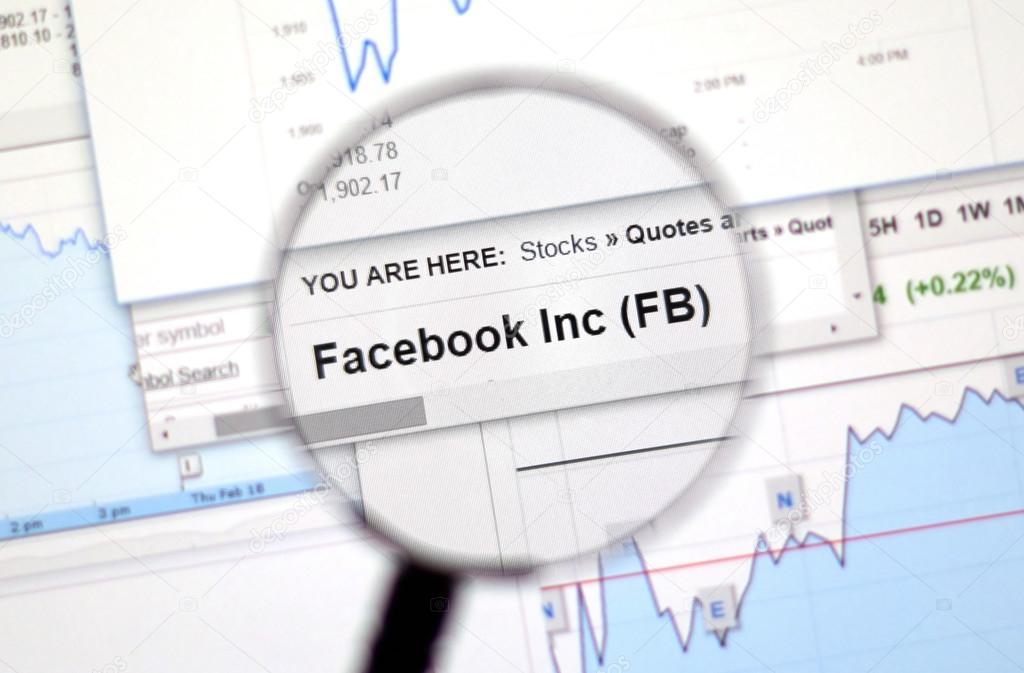 Facebook stock quote