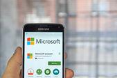Mobilní aplikace Microsoft Account