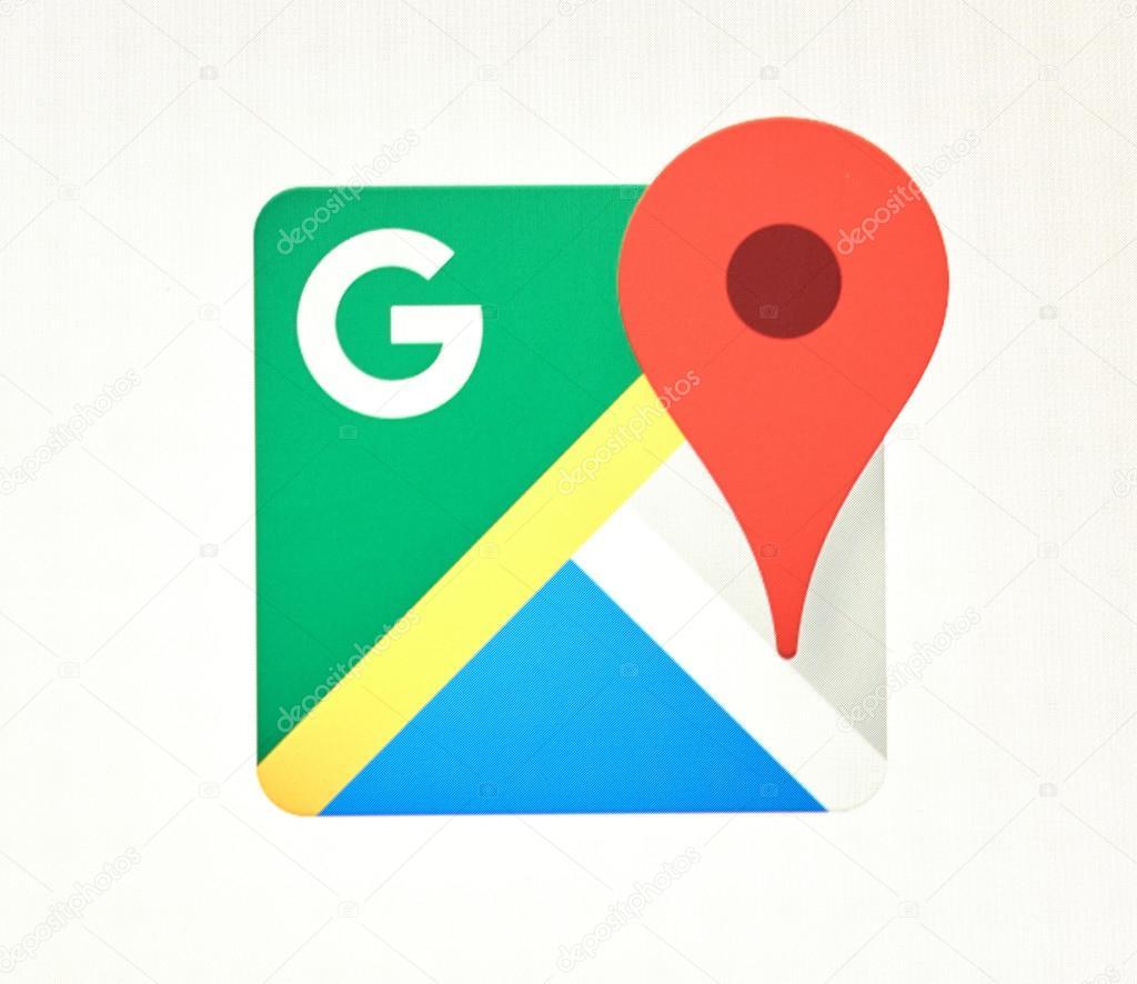 HD Wallpaper » Map Google Icon