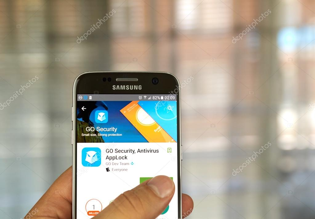 Go Security App Stock Editorial Photo C Dennizn 115028264