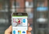 Microsoft aplikace ve službě Google play