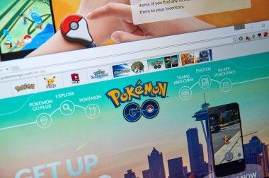 Pokemon Go home page