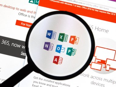 Microsoft Office software.