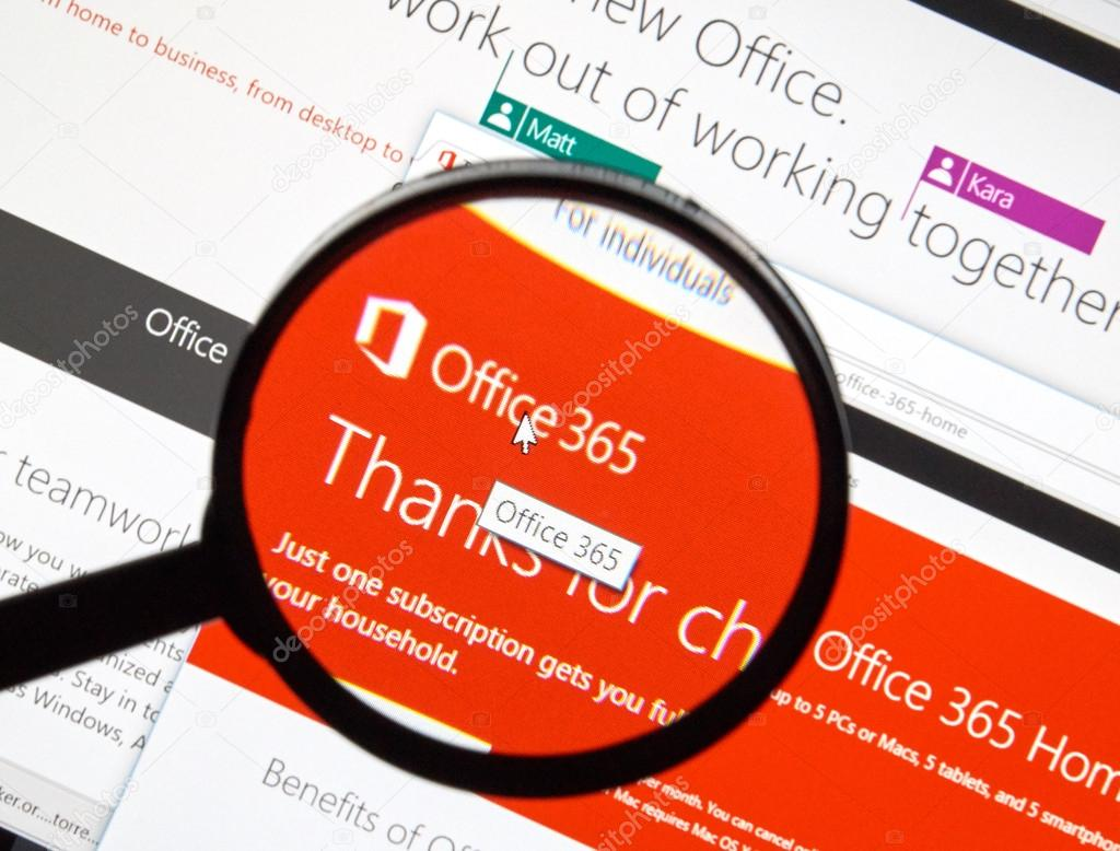 Microsoft Office Software Redaktionelles Stockfoto Dennizn 99612690