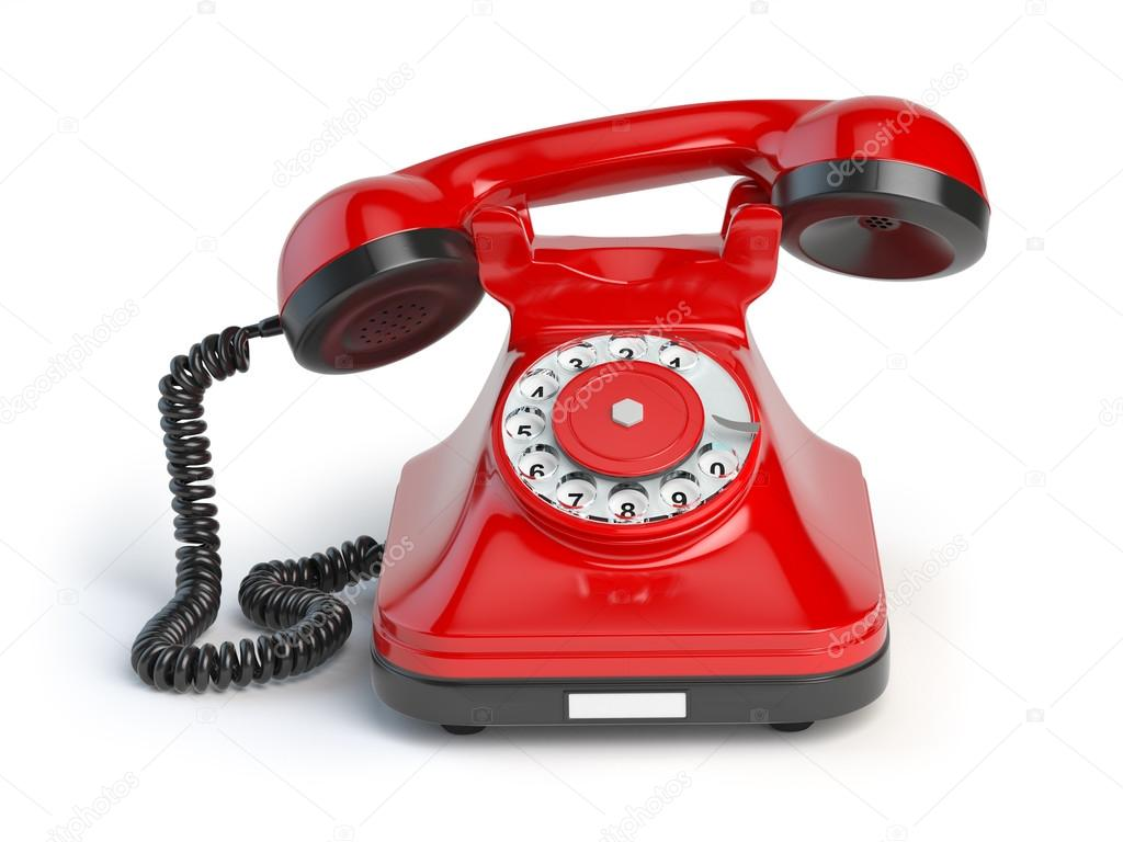 Telefono rosso red telephone 10