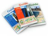 Fotografie Travel guide books.