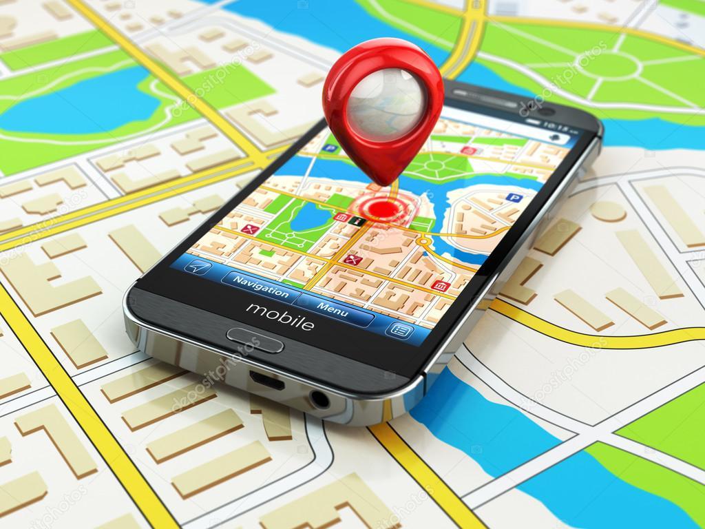 Resultado de imagen para gps smartphone