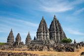 Prambanan chrám, java, Indonésie