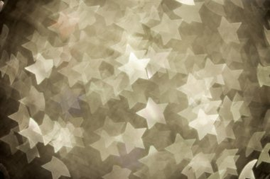Abstract christmas stars on background