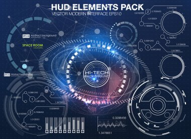 HUD background outer space