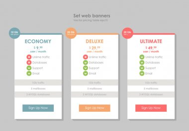 Set tariffs, interface for the site