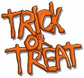 Trick or Treat Halloween szöveg
