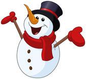 Sněhulák zvyšování paže