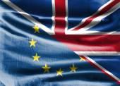 EU a britské vlajky
