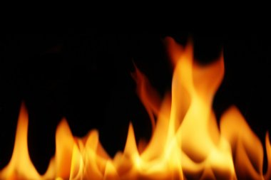 fire flames as background
