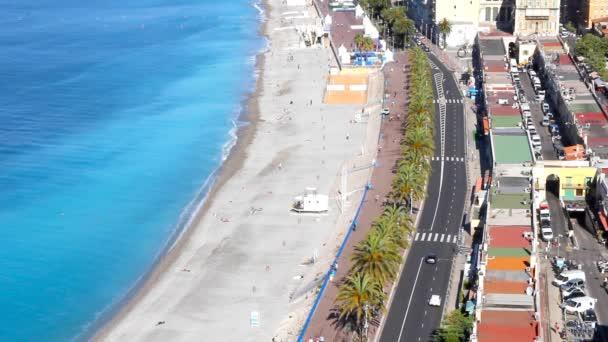 Pláž pěkná, francouzské Riviéře