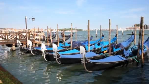 gondole a Venezia, Italia