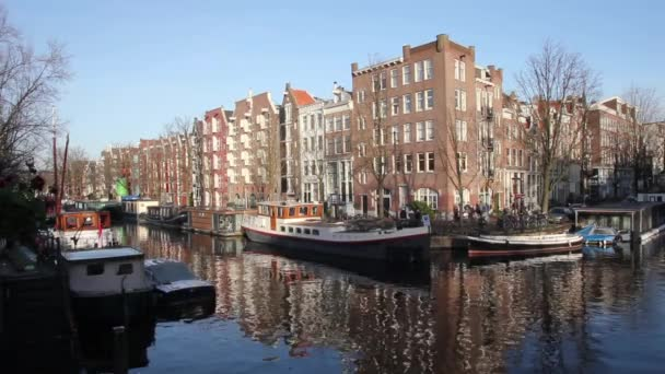 Průplav Amsterdam v sousedství Jordaan