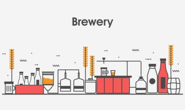 Web design template for Brewery.