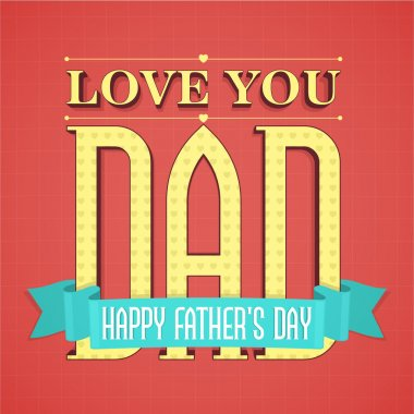 Greeting Card for Father's Day celebration.
