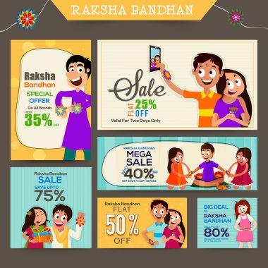 Sale Post and header for Raksha Bandhan.